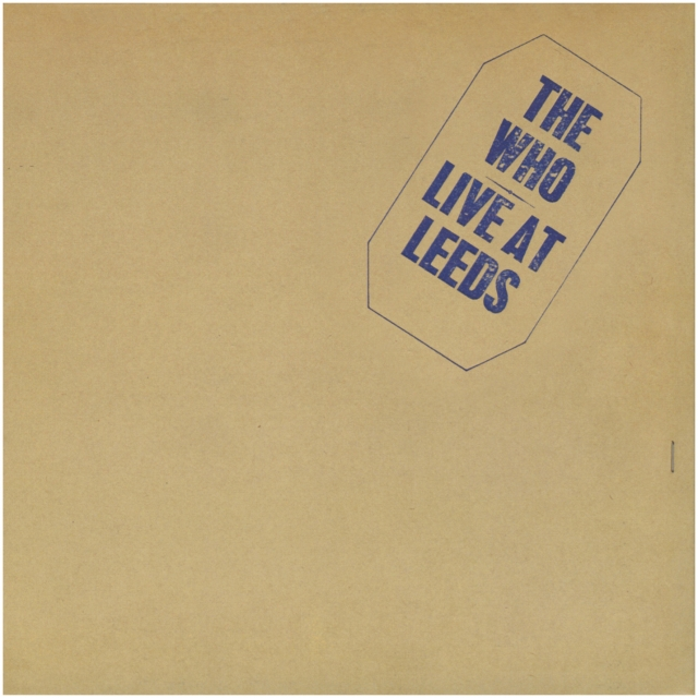 "Album cover of The Who ""Live At Leeds"""