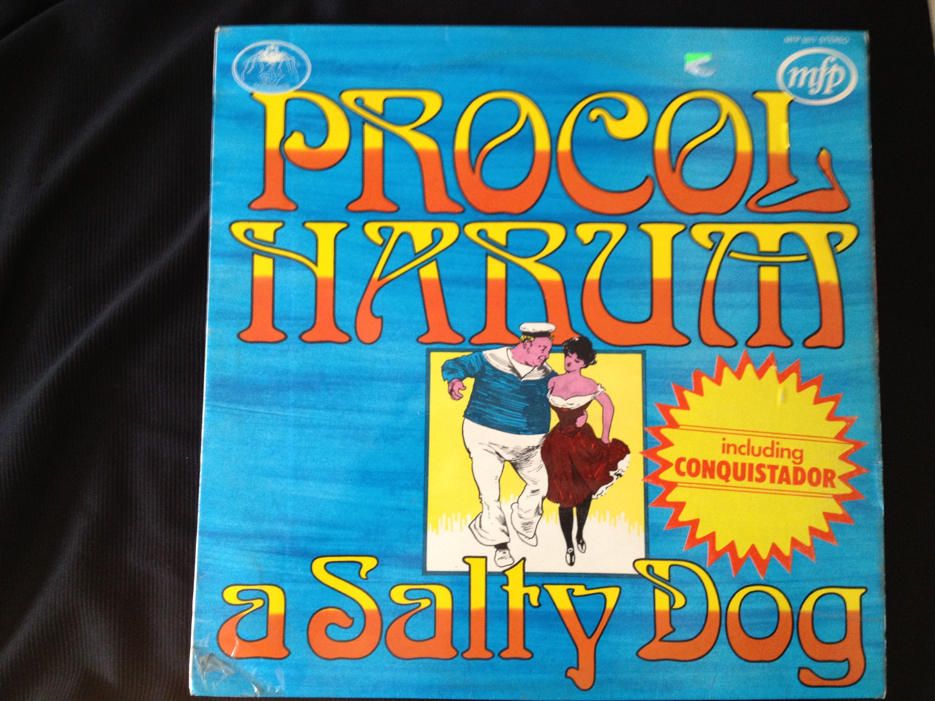 "Album cover of the compilation LP ""A Salty Dog"" by Procol Harum"