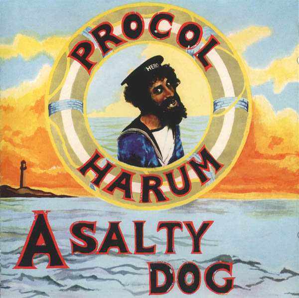 "Original Album cover of ""A Salty Dog"" by Procol Harum"