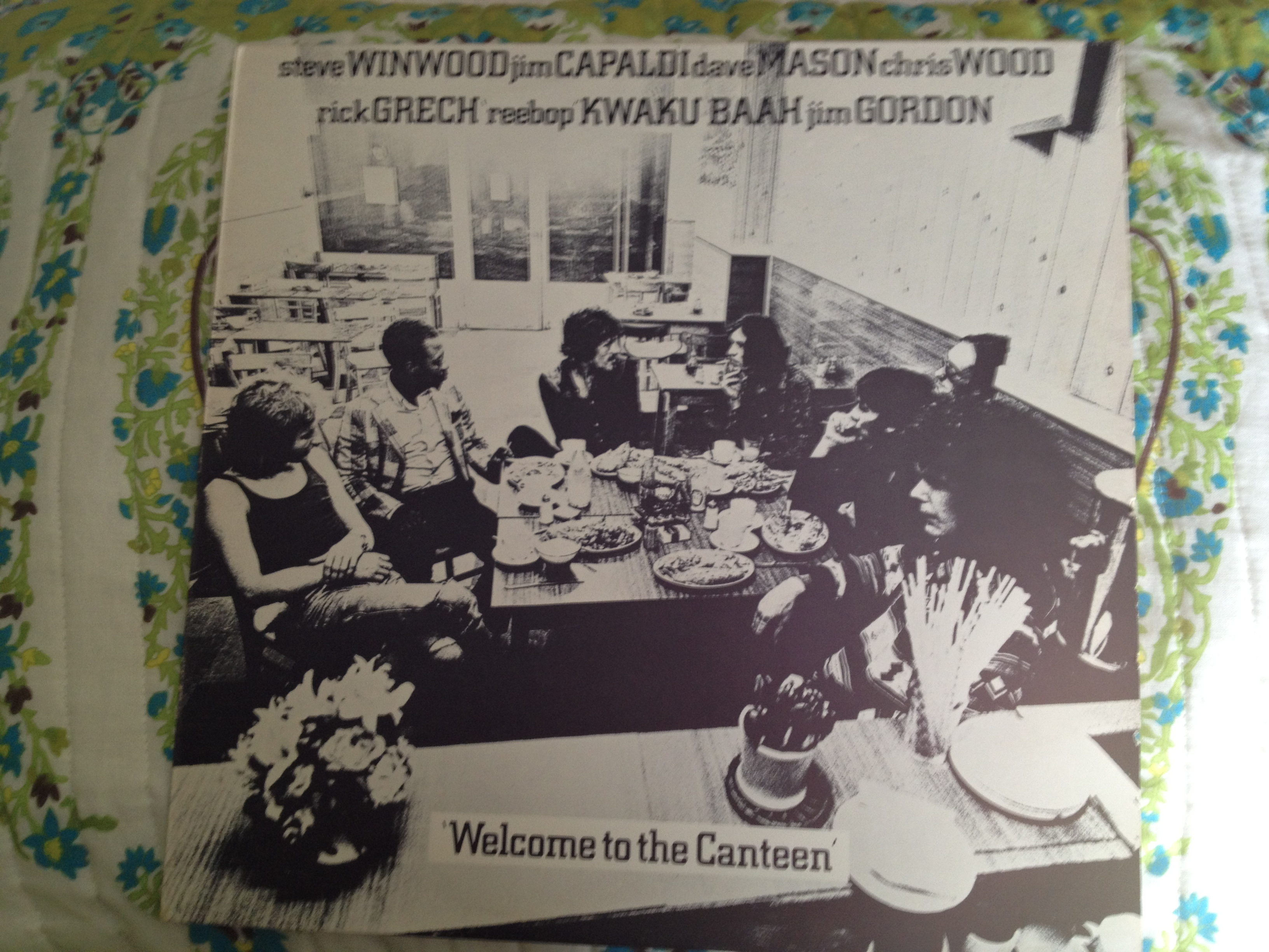 "Front Cover of ""Welcome to the Canteen"""