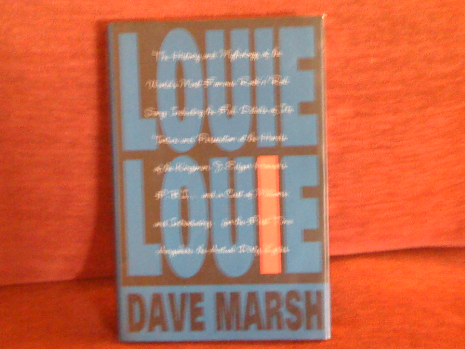 Cover of Louie, Louie by Dave Marsh